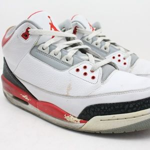 Nike Air Retro Jordan 3 Fire Red 2006